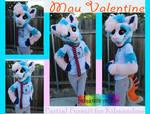 Mau Valentine Partial Suit