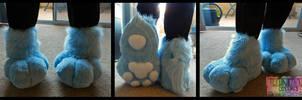 Miles Fursuit Feetpaws