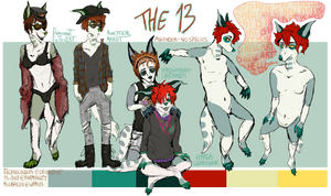 The 13 Reference Sheet 2015 by TECHNlCOLOUR
