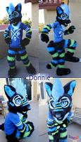 Donnie The Wolf Halfsuit