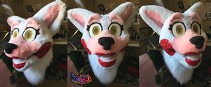 Toy Foxy Mangle Fursuit Head