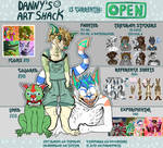 (OPEN FOR COMMISSIONS) Danny's Art Shack