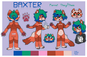 Baxter Reference Sheet Commission by TECHNlCOLOUR
