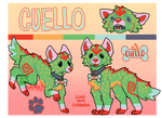 Cuello Reference Sheet by danneroni