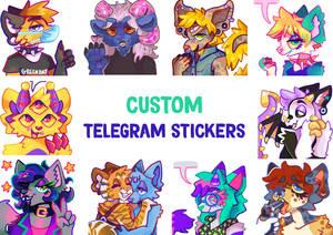 Custom Telegram Stickers