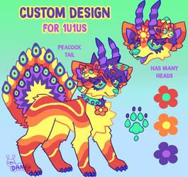 Custom Design for 1u1us