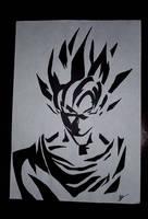 Goku Super Saiyan by Vynton