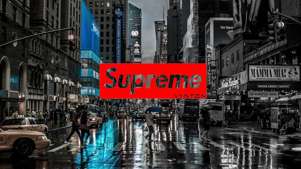 Supreme new york by Vynton on DeviantArt