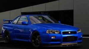 THE R34 GTR