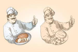Baker and baking set by Inshader