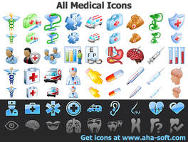 All Medical Icons by Ikont