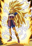Dragon Ball Super - Kyabe Super Saiyan 3