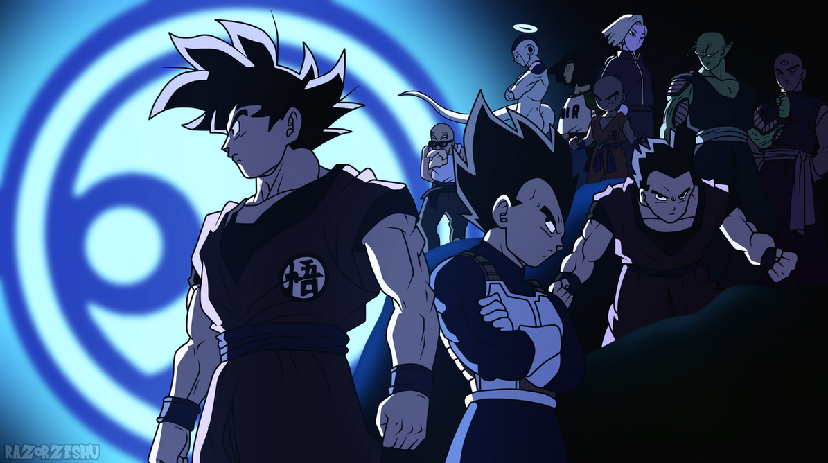 dragon ball super universe 7 team by razorzeshu - Dragon B