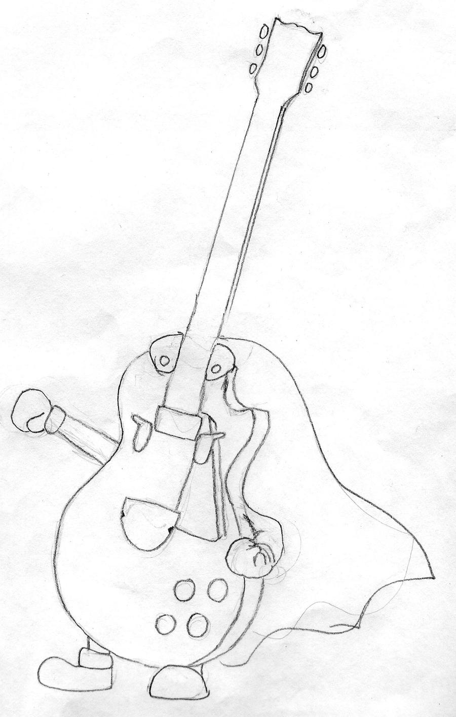 guitar hero coloring pages - photo#16
