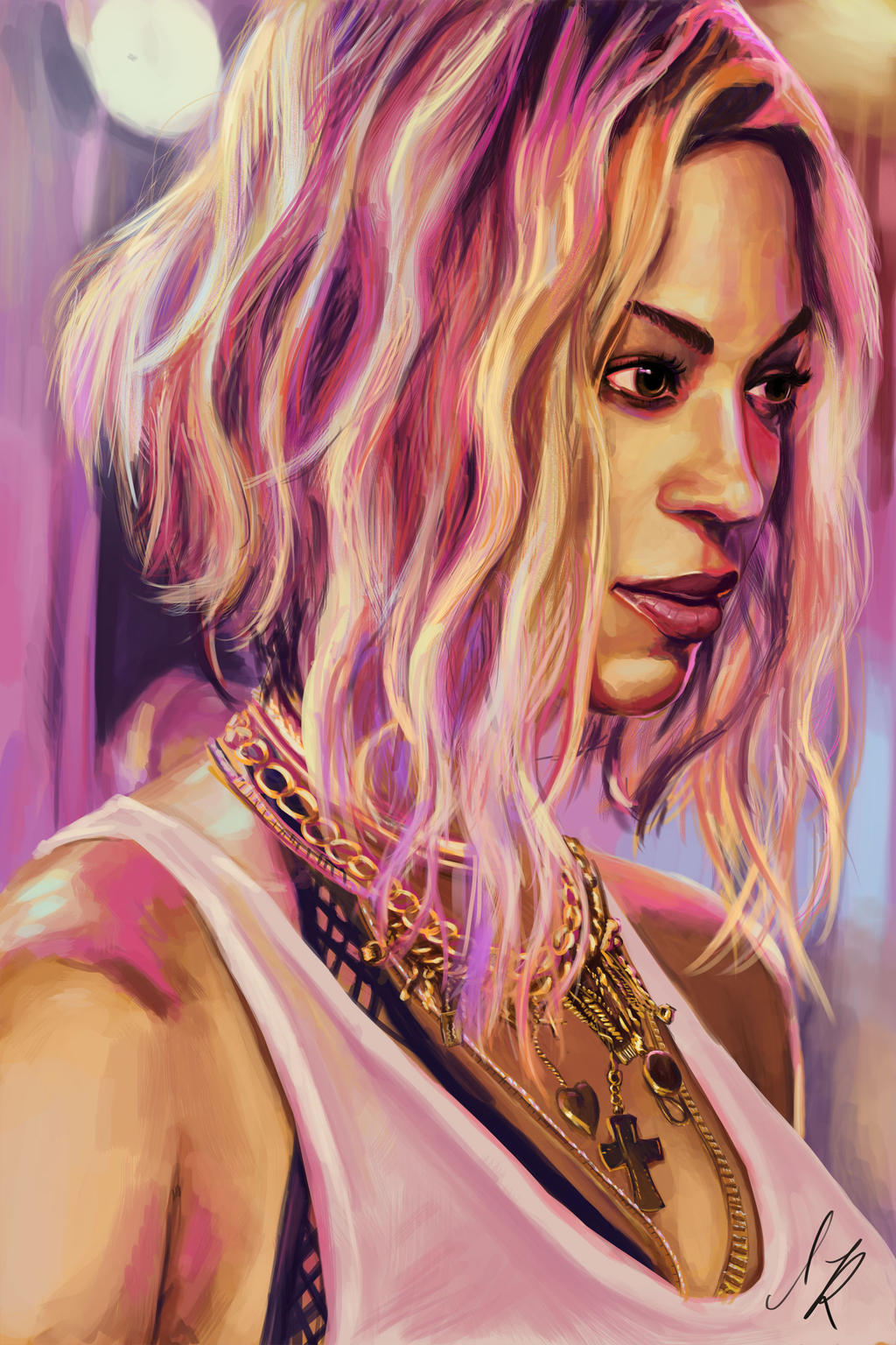 the beyonce project xo by ilairaz on deviantart