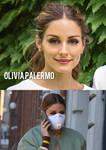 Beautiful Actress Olivia Palermo Wearing Respirato