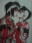 Frerard kisses