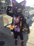 My very first fursuit that I made