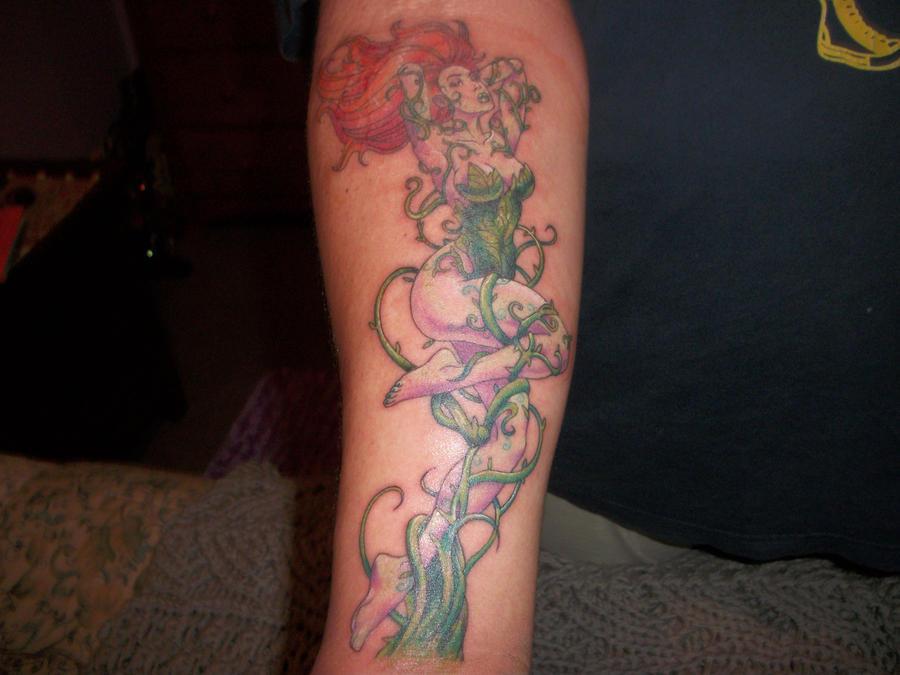 Poison Ivy Plant Tattoo Poison Ivy Tattoo by okgo8790