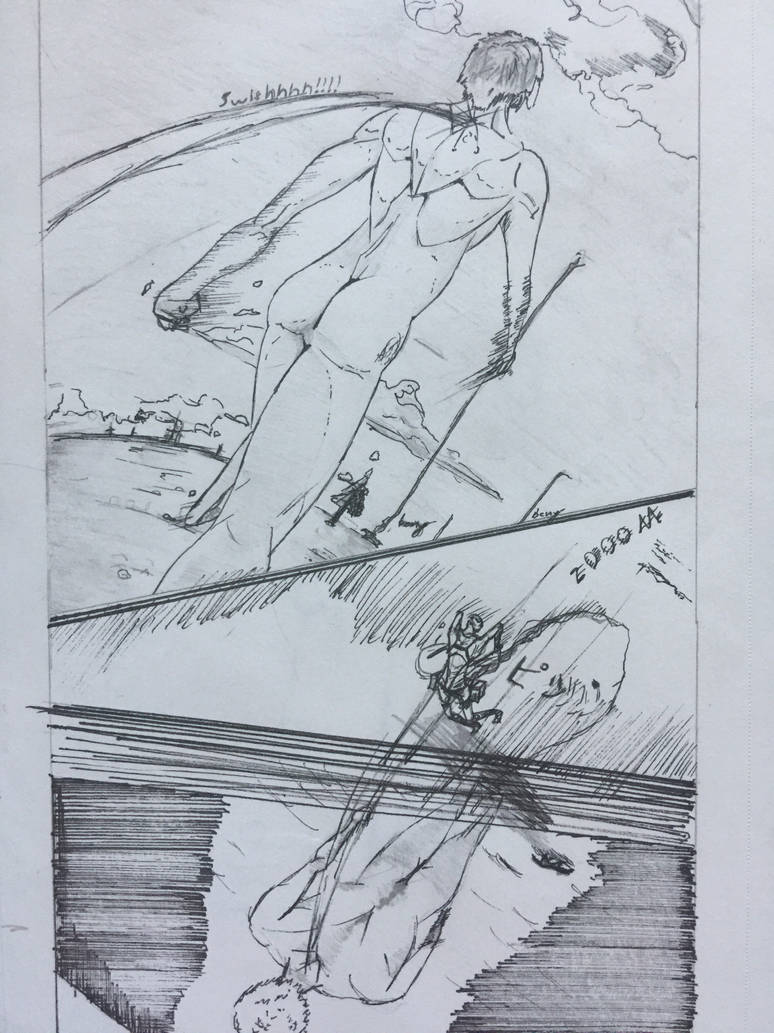 Attack on titan fan comic by Mrclidepees