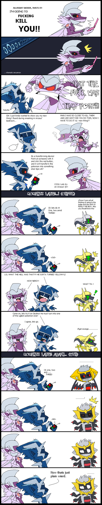 Pokemon - Error Forme by angelasamshi