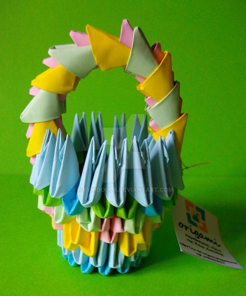 Подарок на день рождения бабушке оригами