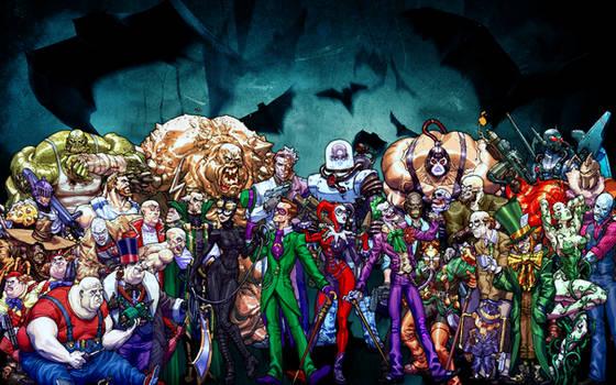 Batman Villains by HTA3CI