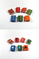 Harry Potter Book Charms by okapirose