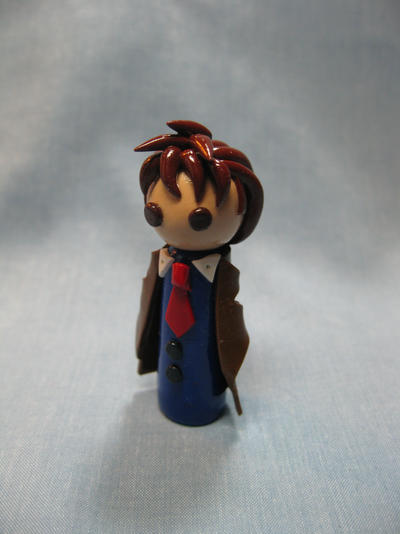 Wobbles: Tenth Doctor by okapirose