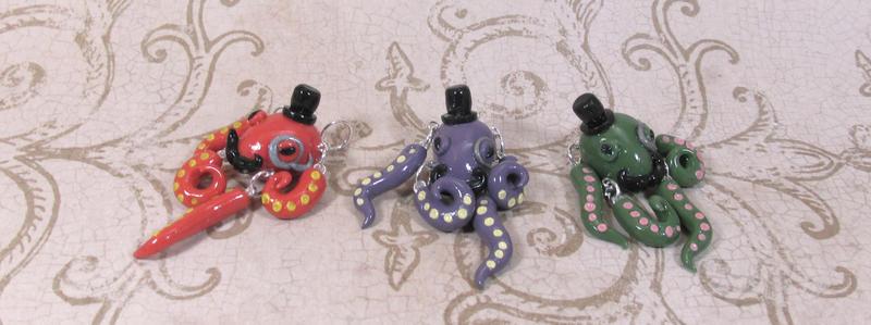 Lures: Gentlemen Octopi by okapirose