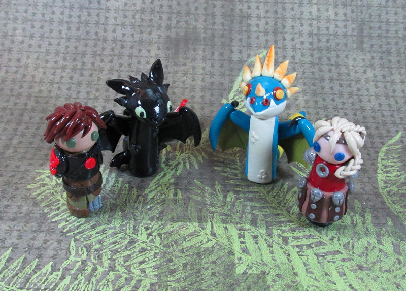 Wobbles: How to train Your Dragon 2 Group by kitcat4056