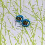 Pork Cutlet Bowl Earrings by okapirose