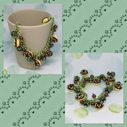 Green Donuts Bracelet