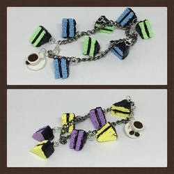 Cakes and Coffee Bracelets