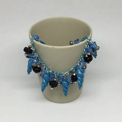 Blue Unicorn Horns Bracelet
