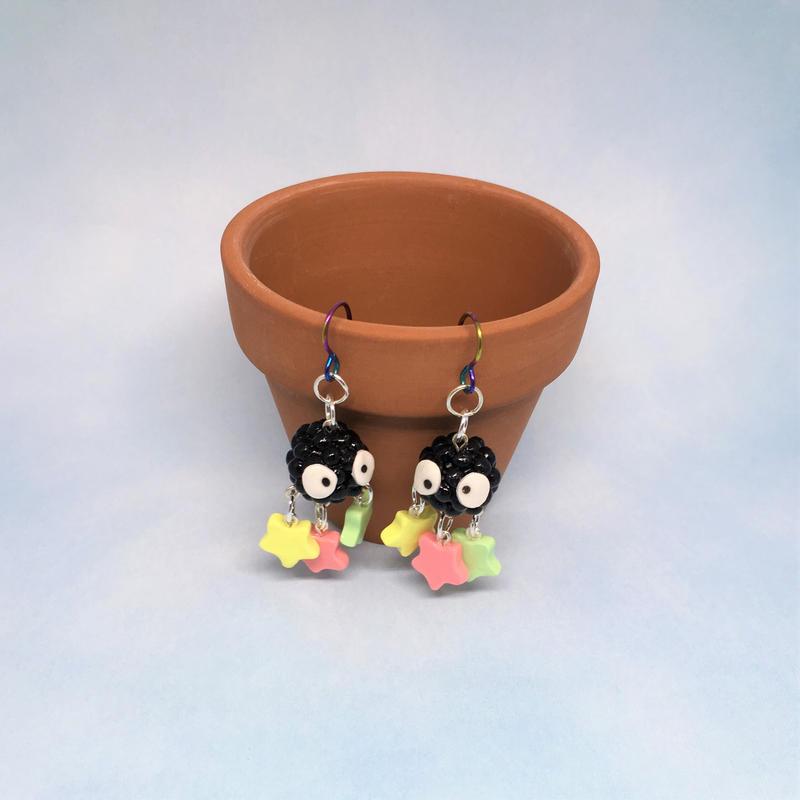 Soot Sprite Earrings (Elaborate)