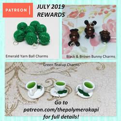 August 2019 Patreon Rewards (3/3)