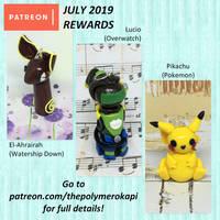 August 2019 Patreon Rewards (1/3)