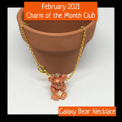 February 2021 Charm of the Month Necklace