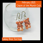 February 2021 Charm of the Month Earrings