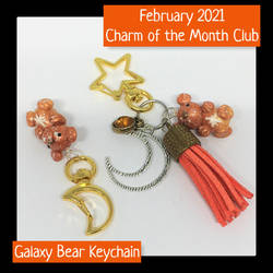 February 2021 Charm of the Month Keychains
