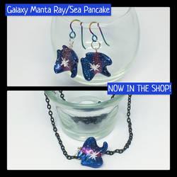 Galaxy Manta Ray aka Sea Pancakes