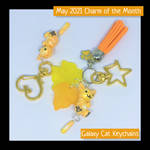 May 2021 Charm of the Month Keychains