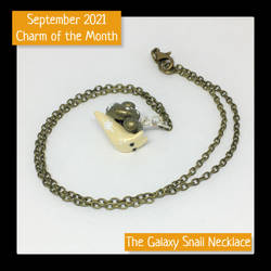 September 2021 Charm of the Month Necklace