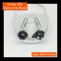 October 2021 Charm of the Month Earrings
