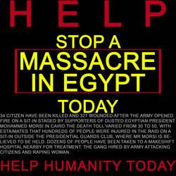 massacre  in Egypt by nazag