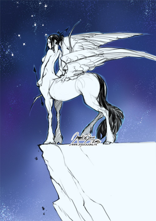 Sagittarius - May Sketch by Miladymorigane