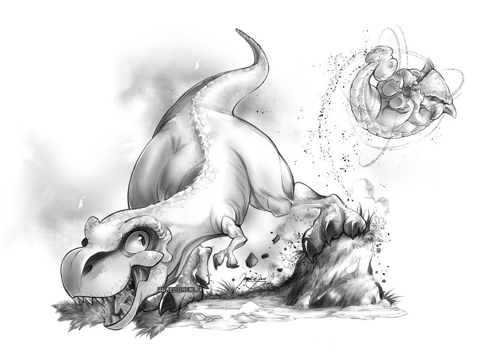 Baby Cretaceous by Miladymorigane