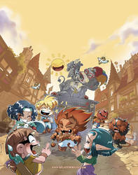 Les Legendaires Parodia T2 Cover