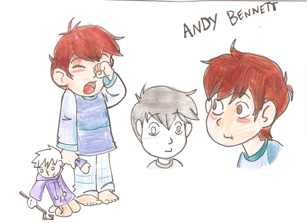 Andy Bennett by gelfnig